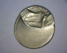 1980 P Jefferson Nickel, 85% Off Center, Us Error Coin