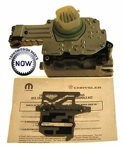 Dodge Jeep 545RFE 45RFE transmission OE solenoid block New 4799937AD D72420AK
