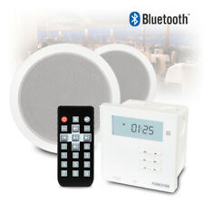More details for ceiling speaker and wall amplifier bluetooth background music install pa system