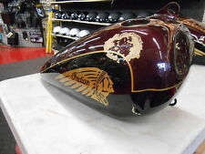 INDIAN ROADMASTER RIGHT SIDE FUEL TANK 2003 (DAMAGED-REPAIRABLE)