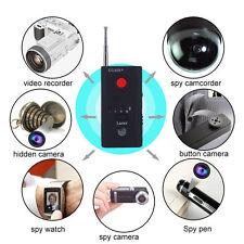 Full Range Wireless Anti-Spy Bug Camera Cell Phone GPS RF Signal Detector Finder