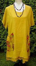 Damenkleid Sommerkleid von Sarah Santos Natur Gr.L  Lagenlook  MADE IN ITALY
