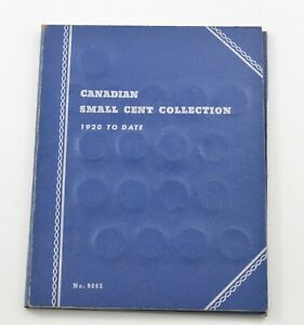 1920-1972 - Canada Small Cents - Collection Set Lot Album *523