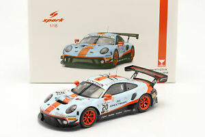 Porsche 911 GT3 R #20 Sieger 24h Spa 2019 Dirty Race Version 1:18 Spark