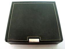 "Coach Empty Leather Box Case 7"" x 6.25"""