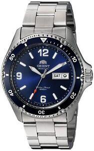 Orient Men's 'Mako II' Japanese Automatic S. Steel Diving Watch FAA02002D9