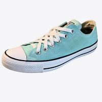 Converse Chuck Taylor All Star Womens Shoes Size 8 Teal Lo-Top Sneakers 6 Mens