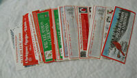 Lot of 22 Vintage Sheets National Wildlife Federation Christmas Stamps