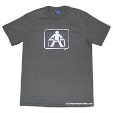 Hommes T-shirt ponts spirale DJ tribu Rétro Vert Combat Rave mélange de nouvelles grandes
