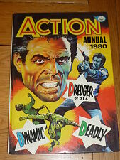ACTION Annual - Year 1980 - UK Comic Annual ( Price Tab Intact )