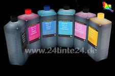 6x 1 L INCHIOSTRO REFILL INK Dye 6 color 1400 1500w r265 r285 p50 px830 px820 px800