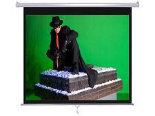 """Maxstar 128"""" Format 84""""x84"""" e-z Pull Down  Manual Projector Screen Matte White"""
