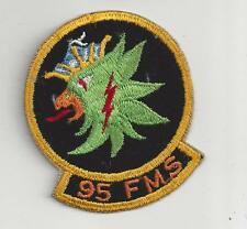 PATCH USAF 95TH FMS MAINTENANCE 3 1/2""