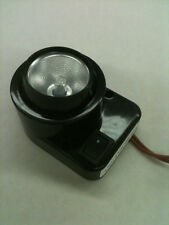 New, Black Surface Mount Eyeball Fixture  with On/Off Switch, 12V, 10W