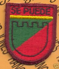 C&C Hq Puerto Rico ARNG 292 Area Cmd Beret flash patch