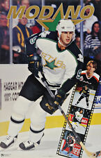 1993 Mike Modano Dallas Stars Original Norman James Poster OOP