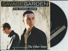 SAVAGE GARDEN - The animal song CD SINGLE 2TR EU CARDSLEEVE 1999 RARE!
