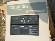 Toshiba TOSVERT 130H1  3 HP Transistor Inverter Motor Drive CNC / Machine Tools
