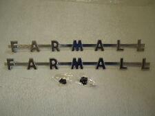 2 New Side Emblem Logos For Farmall 130 230 200 Tractor 362512r2