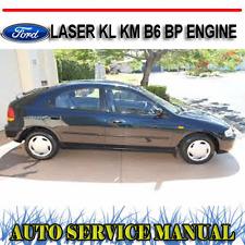 FORD LASER KL KM 1995-1999 B6 BP ENGINE REPAIR SERVICE MANUAL ~ DVD