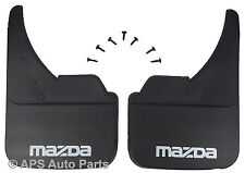 Universal Car Mudflaps Front Rear Mazda Tribute Xedos Branded Mud Flap Guard