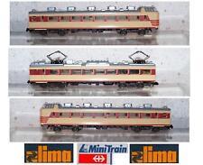 LIMA 163945 Retro 1980 TREN ELÉCTRICO MOTORIZADO CHUO-LINER JR 3 CARROS ESCALA N