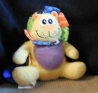 Infantino+yellow+lion+toy+blue+teether+ring+tail+crinkle+purple+tummy+rattle