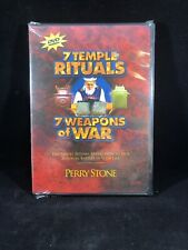 7 Temple Rituals / 7 Weapons of War by Perry Stone Jr DVD New Sealed Christian