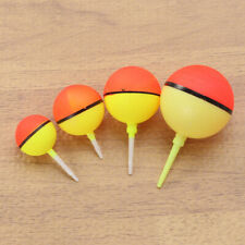 4pcs Fishing Bobbers Floats Set Plastic Fishing Round Buoy Float Bobber Fishing