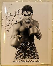 Hector Macho Camacho Autographed Signed 8x10 Photo
