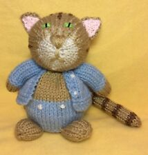 KNITTING PATTERN - Tom Kitten inspired chocolate orange cover / 15 cms Cat toy