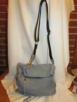 Wow ~ Aimee Kestenberg Lamb Leather Crossbody - W. 33rd Handbag Denim $228