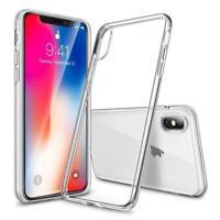 Case for iPhone SE 2 2020 XS MAX XR X 8 7 6s Ultra Thin Slim TPU Gel Skin Cover