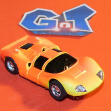 TYCO CHAPARRAL 2D ORANGE YELLOW Slot Car HO Running Chassis