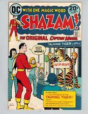 Shazam! #7  The Original Captain Marvel with Mr Tawny from 1973 Nice F/VF!