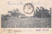 * ARGENTINA - Rosario de Santa Fe - Entrada a los Banos del Saladillo 1902