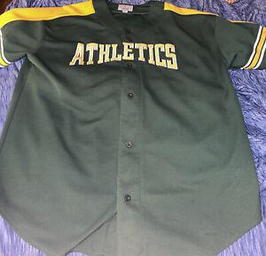 Vintage Starter Genuine Merchandise Oakland Athletics Baseball Jersey Mens 2XL
