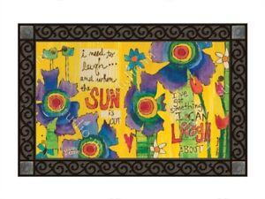 The Lyric Project Studio M Good Day Sunshine MatMate