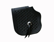 Leather Leg protector Motorcycle Heat shield Heritage Springer FLSTS no fringe