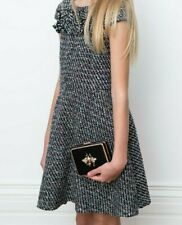 DAVID CHARLES Multi-Tweed Fringe Dress  ($260) w/tax  (Size 10)
