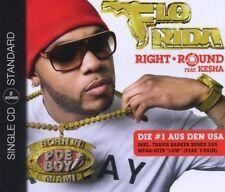 Flo Rida Right round (2009; 2 tracks, feat. Ke$ha, T-Pain) [Maxi-CD]
