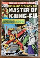 Shang-Chi Master of Kung Fu #33 Marvel 1975 - 1st Leiko Wu Appearance
