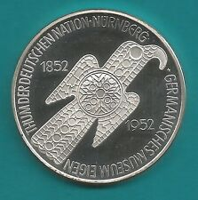 Neusilbermedaille-Germanisches Museum-1985-17,9 Gramm-Durchmesser 36 mm-