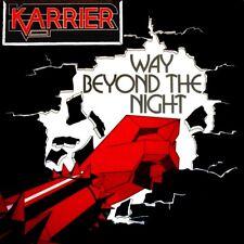 KARRIER-Way beyond the night CD NWOBHM Savage Dervish Virtue Bleak House Randy