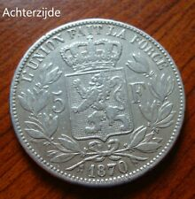5 francs Leopold II 1870