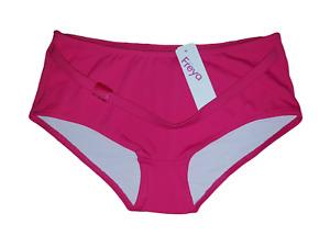 Freya Cabret Pink Shorts Leg Bikini Bottoms ~ UK Size 8 & 10