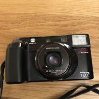 Minolta Freedom Tele AF Multibeam 35mm Camera Untested Parts Repair Vintage