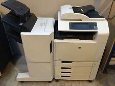 HP Color LaserJet CM6040 CM6040F + Stapler Stacker Unit A3 A4 Colour Printer