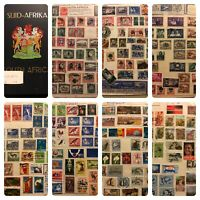 Fantastic South Africa Stamp Collection Album 1910-1986 Accumulation Mint/used