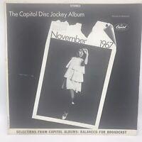 Capitol Disc Jockey Album Nov. 1967 PROMO Various Artists NM / VG+ 33rpm